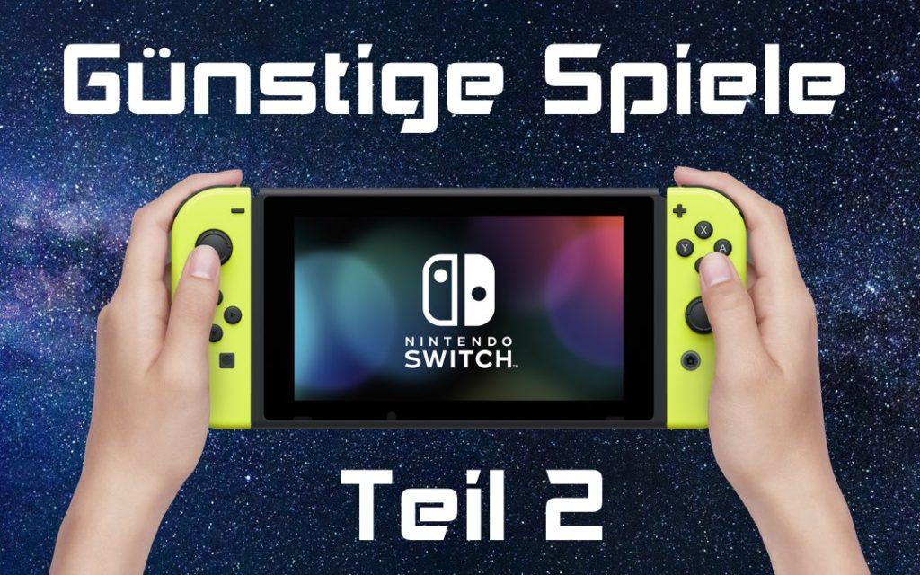 Günstige Spiele für die Nintendo Switch