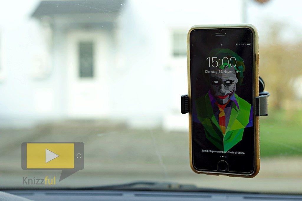 Olixar GripMount KFZ-Halterung für Smartphones