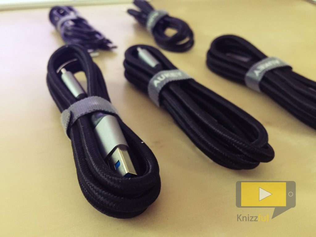 Testbericht: USB-C-Kabel von AUKEY