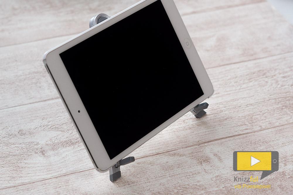 testbericht hawara universal metall tablet halterung. Black Bedroom Furniture Sets. Home Design Ideas