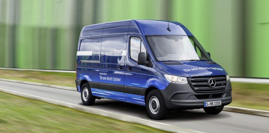 Mercedes-Benz: eSprinter für den Stadtverkehr vorgestellt