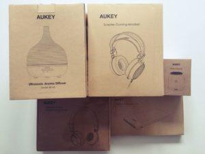 Aukey Verlosung Gadgets