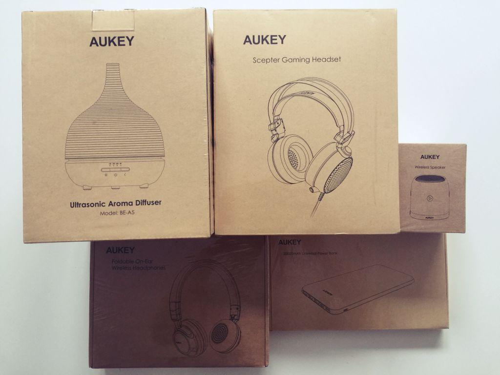 Gewinnspiel: AUKEY Gadgets im Gesamtwert von über 140 Euro