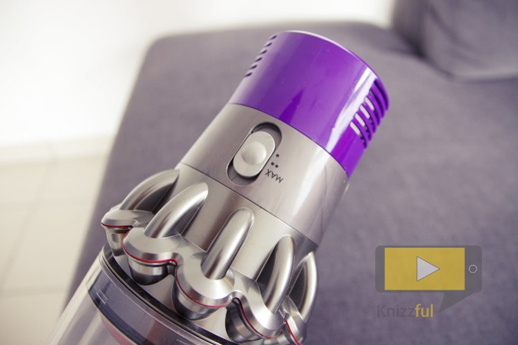 Dyson Cyclone V10 Absolute Saugleistung
