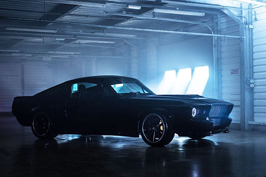 Charge Elektro Mustang