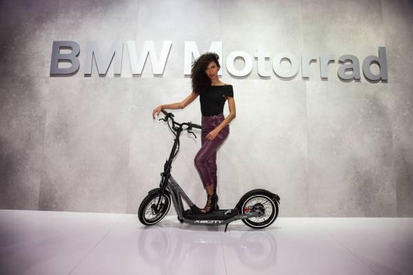 BMW X2City: E-Roller von BMW erscheint im Februar