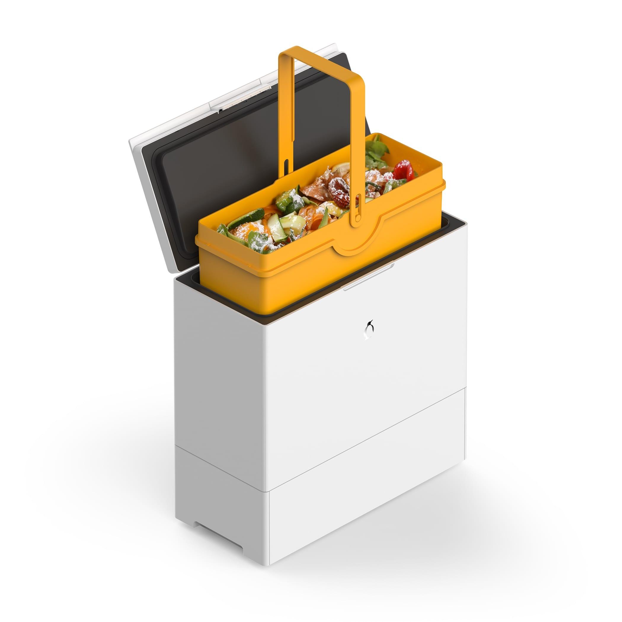 FreezyBoy: Funktionaler Komposteimer für die Küche