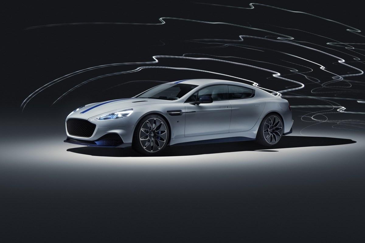 Rapid E: Aston Martin stellt E-Auto vor