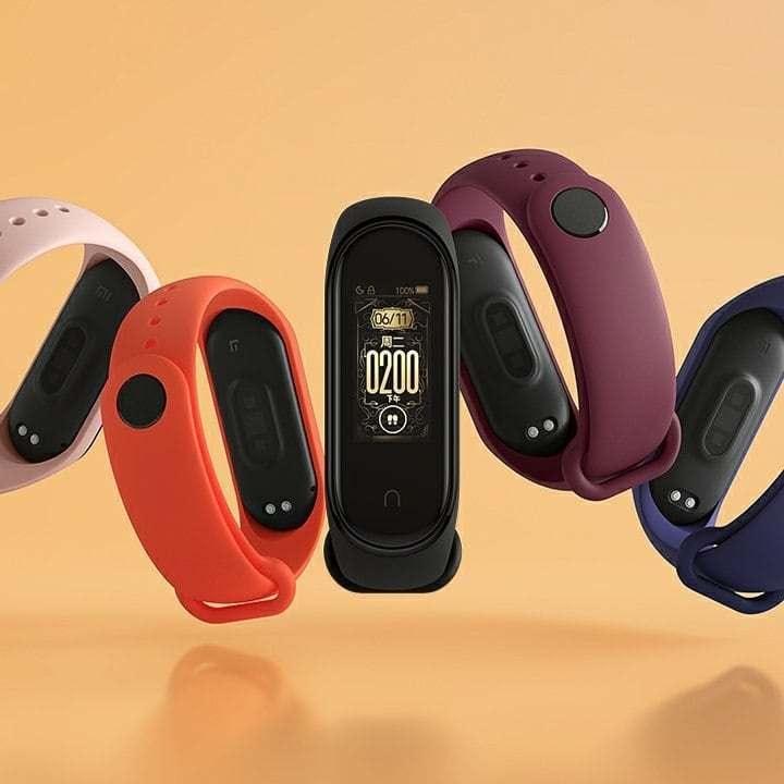 Xiaomi Mi Band 4 - Farben
