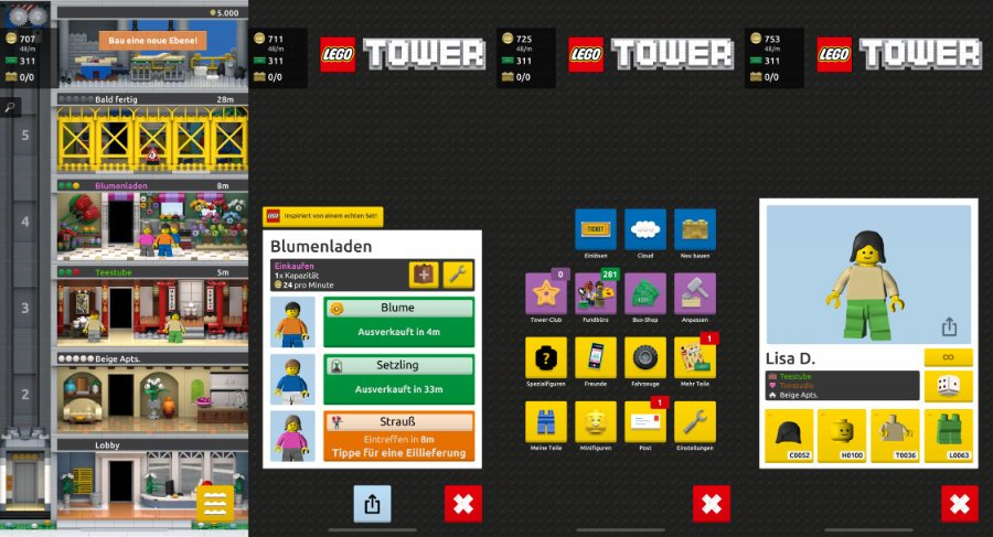Lego Tower: Tiny Tower im Legogewand startet