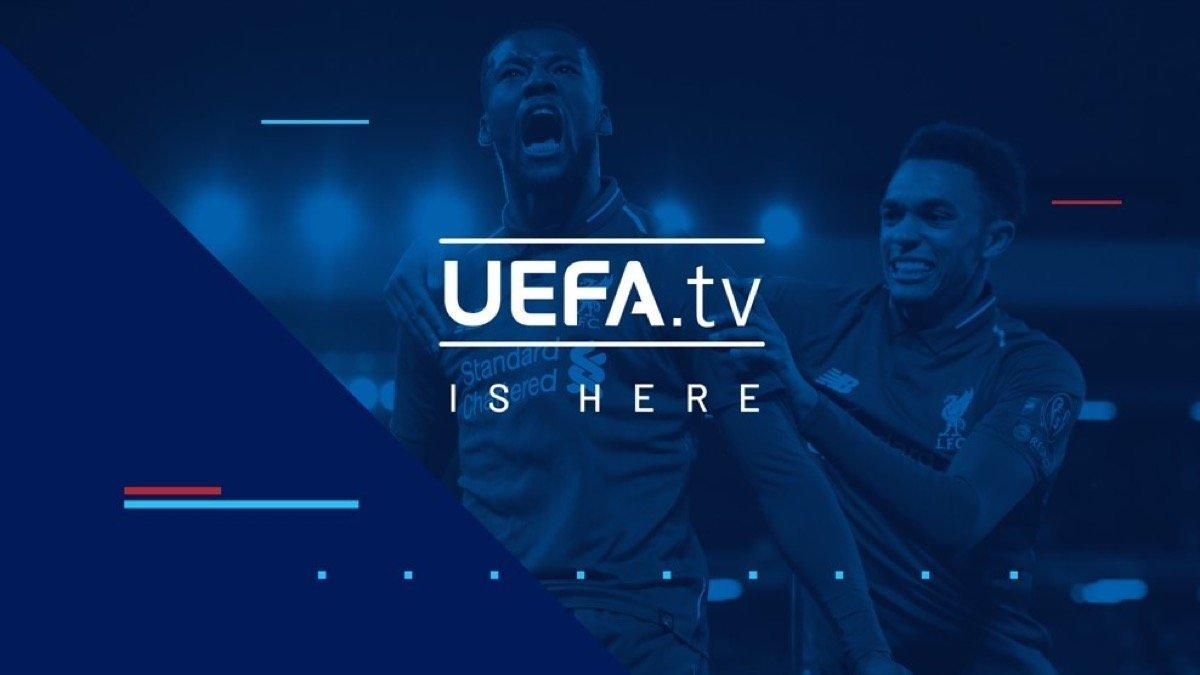UEFA.tv offiziell gestartet (inkl. App)