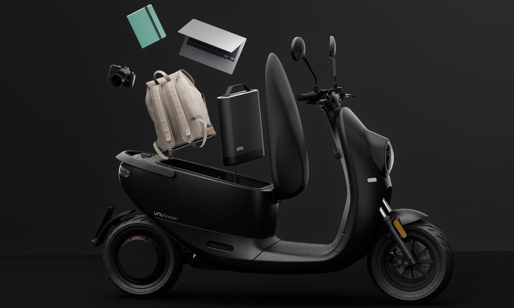 Unu: Zweite Generation des E-Scooters vorgestellt