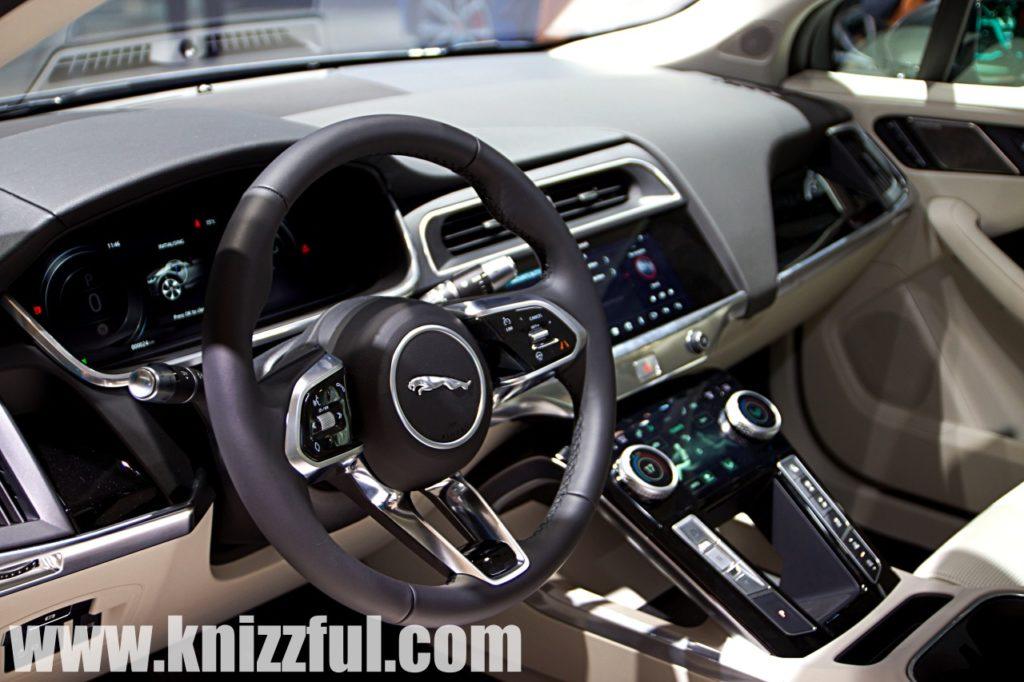 Jaguar I-PACE Cockpit - IAA 2019
