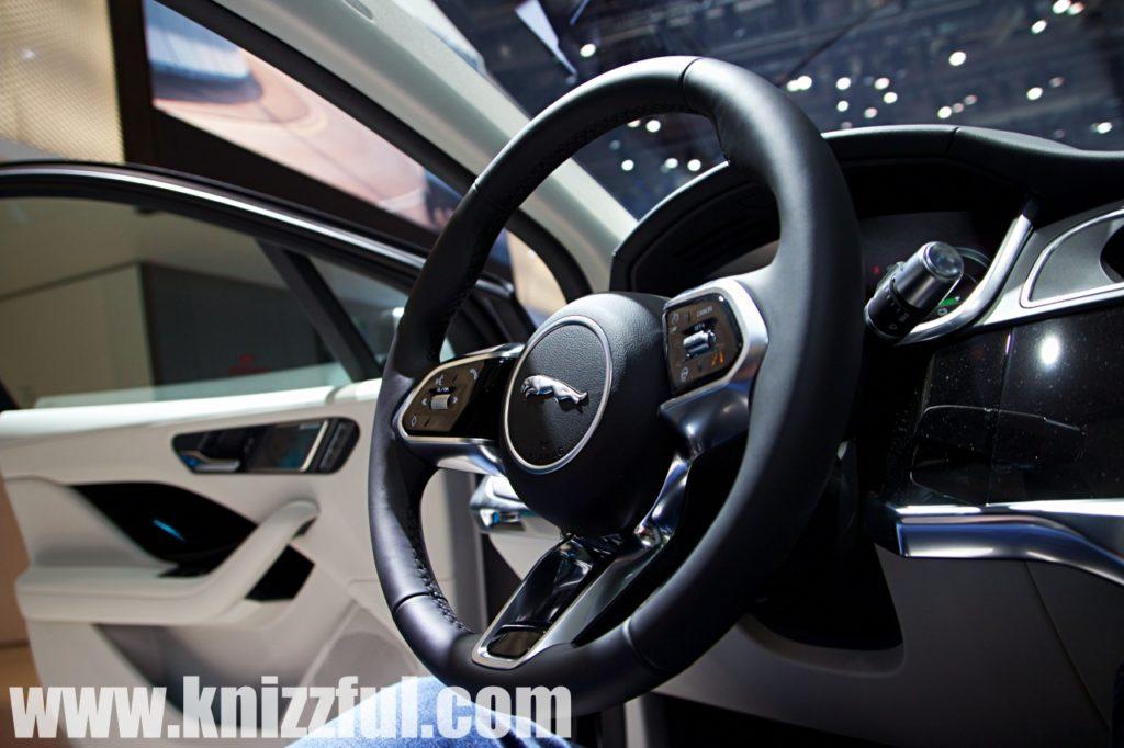 Jaguar I-PACE Lenkrad - IAA 2019