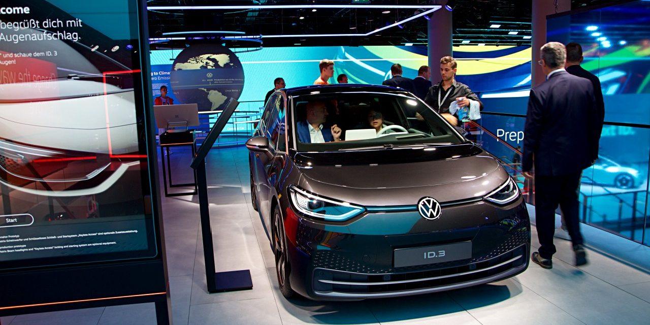 VW ID.3 – Das neue Elektroauto von Volkswagen | IAA 2019