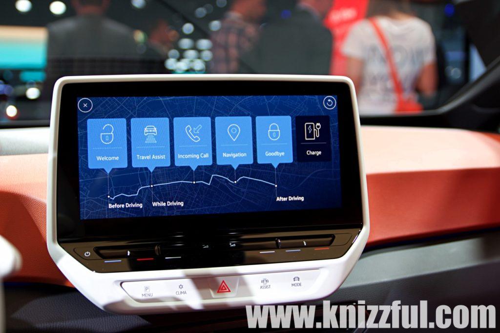 VW ID.3 - Infotainmentsystem
